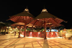 ресторан ночи гостиницы Стоковые Изображения RF