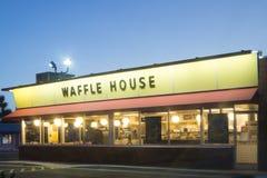 Ресторан дома Waffle стоковое фото rf