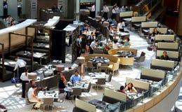 Ресторан ориентир ориентира кафа, Гонконг Стоковые Фотографии RF