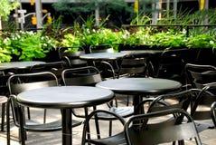 ресторан патио Стоковая Фотография RF