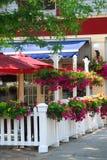 ресторан патио стоковое изображение