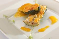 ресторан плиты еды Стоковая Фотография RF