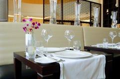 ресторан роскоши гостиницы Стоковое Фото