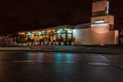 Ресторан Роттердам Zenne стоковое изображение rf
