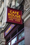 Ресторан румян кафа стоковые фото