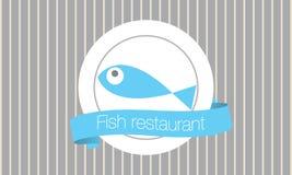 Ресторан рыб Стоковое Изображение RF