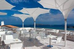 ресторан Сардиния курорта Стоковое Изображение