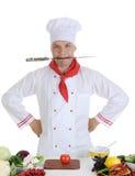 ресторан шеф-повара Стоковые Фото