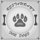 ресторан для собак Стоковые Изображения