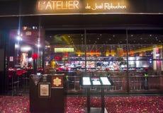 Ресторан Джоэл Robuchon Стоковое Изображение RF