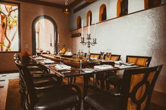 Ресторан Стоковое Изображение RF