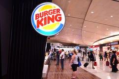 Ресторан Burger King Стоковые Фото