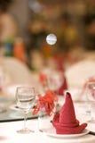ресторан dishware стоковое изображение rf