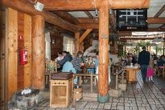 Ресторан Lido в Риге Стоковое Изображение