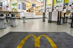 Ресторан McDonald Стоковое Изображение RF