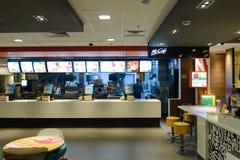 Ресторан McDonald Стоковая Фотография