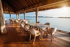 Ресторан outdoors стоковая фотография rf