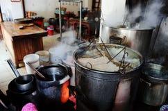 Ресторан Pho лапши риса Стоковые Изображения