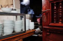 Ресторан Pho лапши риса Стоковая Фотография RF