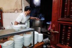 Ресторан Pho лапши риса Стоковые Фото