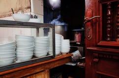 Ресторан Pho лапши риса Стоковая Фотография