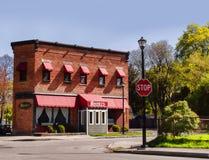 Ресторан Rooney, Rochester, NY стоковое изображение