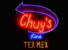 Ресторан TexMex Chuy точный Стоковое Изображение