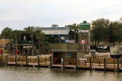 Ресторан Vickery, устанавливает приятное, SC Стоковая Фотография RF