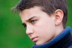 ретроспективный подросток Стоковое фото RF