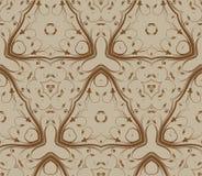 Ретро абстрактная безшовная картина Стоковое Фото