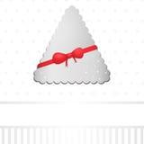 Ретро абстрактная предпосылка рождественской елки иллюстрация вектора
