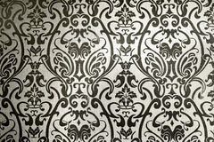 ретро абстрактного художнического фона флористическое Стоковое фото RF