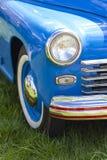 ретро автомобили на выставке Стоковое Изображение