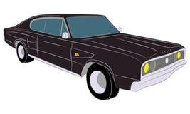 ретро автомобиля классицистическое сбор винограда sacramento Уругвая del colonia автомобиля Автомобиль мышцы Стоковые Изображения