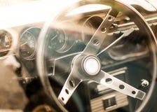 ретро автомобиля нутряное Стоковое Изображение