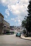 Ретро автомобиль в старой Гаване Стоковое Фото