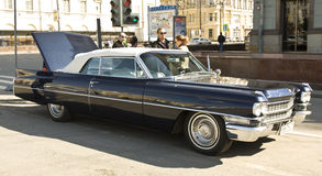 Ретро автомобиль Кадиллак Стоковая Фотография