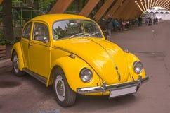 Ретро автомобиль на дисплее в Sokolniki, Москве, Российской Федерации 21-ое мая 2016 Стоковое Фото