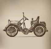 Ретро автомобиль Бесплатная Иллюстрация