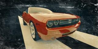 Ретро автомобиль Стоковая Фотография