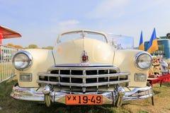 Ретро автомобиль ZIM или GAS-12 Стоковое Фото