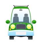 ретро автомобиля зеленое Стоковое Изображение