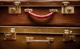 Ретро багаж Стоковое фото RF