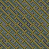 Ретро безшовная картина Стоковые Изображения RF