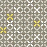 Ретро белый бежевый желтый цвет выходит на серый коричневый цвет Стоковая Фотография