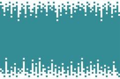Ретро, блоки предпосылка конспекта квадратные, пикселы предпосылка, дизайн вектора Стоковая Фотография