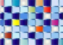 ретро вектор квадратов Стоковые Фото