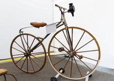 Ретро велосипеды старого велосипеда Стоковое Изображение RF