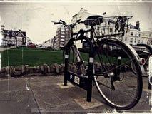 Ретро велосипед Стоковая Фотография
