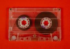 Ретро винтажная магнитофонная кассета Стоковая Фотография